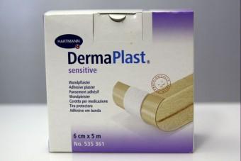 Wondpleister Dermaplast sensitive 6 cm x 5 m
