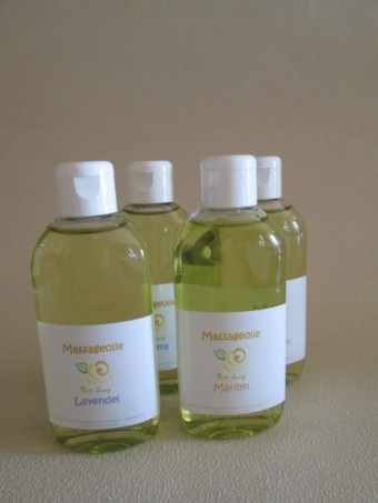 Massageolie 100 ml diverse geuren