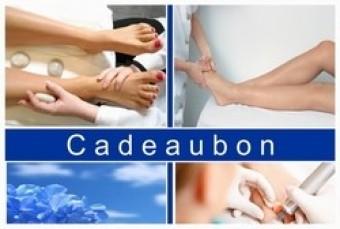 Kadobonnen voetverzorging. 12 stuks + enveloppe